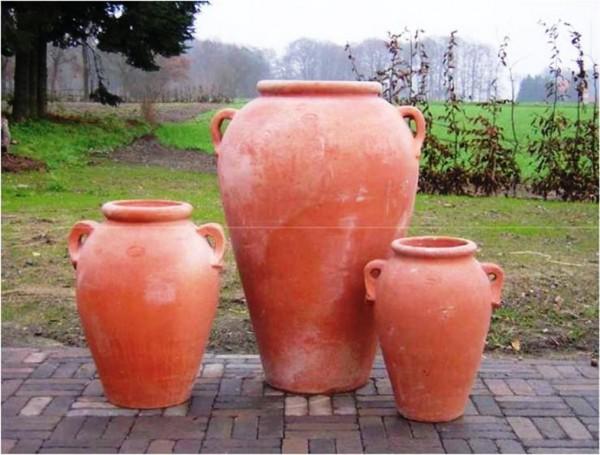 Impruneta Terracotta - Orcio Liscio con Manici