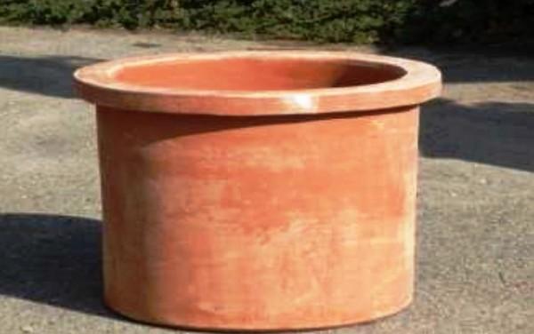 Impruneta Terracotta - Cilindro Quadro