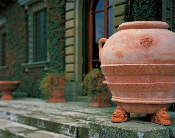 Impruneta Terracotta, Orcio Classico, Amphore, Ölkrug